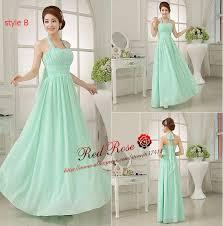 aliexpress com buy mint green bridesmaid dresses long junior