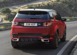 land rover discovery sport red land rover discovery sport gets new hse dynamic lux for frankfurt