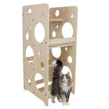 cat furniture front bubble cat tree coolkittycondos