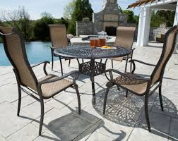 Patio Table And Chair Covers Rectangular Table Awesome Patio Furniture Table And Chairs Bella All Weather
