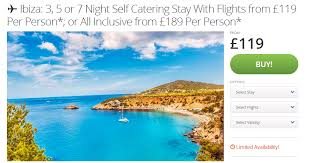cheap to ibiza just 119 each or 189 all inclusive