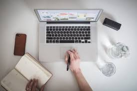 Laptop Desk With Speakers by Picture Of Designer Working On Laptop Free Stock Photo