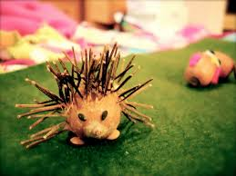 roots of simplicity acorn hedgehogs an autumn nature craft