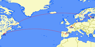 Iberia Route Map by 6 Best Uses Of Asia Miles Including Business Class To Europe For