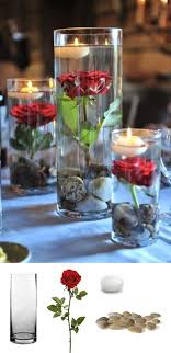 floating candle centerpiece ideas 37 floating flowers and candles centerpieces shelterness