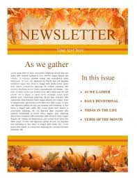 thanksgiving church newsletter template newsletter templates