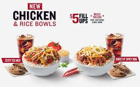 kfc now has chicken and rice bowls you can fill up on