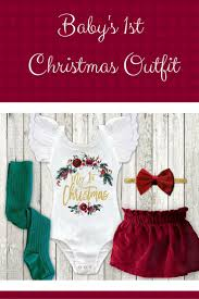 the 25 best baby u0027s first christmas ideas on pinterest