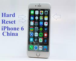 hard reset iphone china how to hard reset iphone 6 china youtube