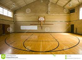 high basketball court stock photo image 23179560