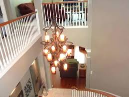 Foyer Lighting For High Ceilings Foyer Lighting Ideas Chandelier Shades Modern Chandeliers Entryway