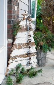 a scroogeless front porch thanks to an fence tree