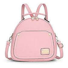 light pink leather backpack buy backpack sodial r spring small women backpacks bags for