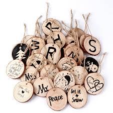 aliexpress com buy 100pcs natural wooden slices diy art craft