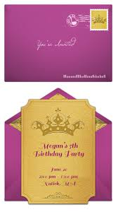 5th birthday party invitation top 25 best princess sofia invitations ideas on pinterest