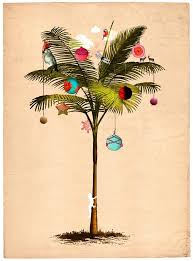 tropical christmas cards tropical christmas tree by delphine lebourgeois artist christmas