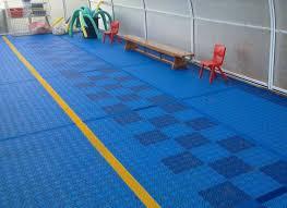 interlocking plastic floor tiles a safer swimming pool