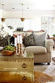 early fall home tour 2015 botanical gallery wall trunk coffee