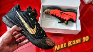 christmas kobes nike 10 elite low christmas review on foot