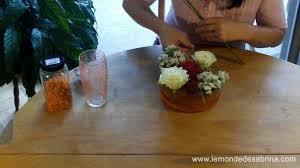 Petites Compositions Florales Décoration Florale Pour La Fête Des Mères Le Monde De Sabrina