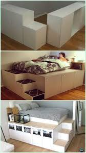 Diy Platform Bed Storage Ideas by Creative Under Bed Storage Idea Diy Shelf Bed Storage Wood