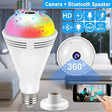 light bulb security system light bulb wireless wifi ip hidden camera for home security system