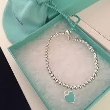 silver beads necklace tiffany images Tiffany co return to tiffany bead bracelet size small 6 5 jpg