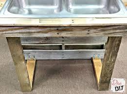 Kitchen Sink Drink Remodelaholic How To Make A Pallet Drink Station