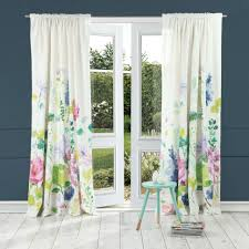 Pink And Navy Curtains Curtain Curtain Tetbury Meadow Curtains Ready Made Bluebellgray