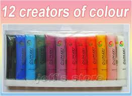 aliexpress com buy 12 colors acrylic paints tube box set for