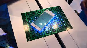 Wireless Charging Table Intel Wireless Charging Table Demo Ifa Berlin Youtube