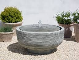 unique plant pots tropical garden with unique waterfall garden fountain outdoor