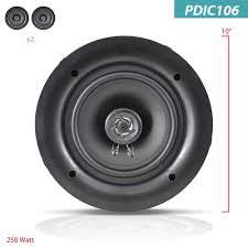 best in ceiling speakers for home theater amazon com pyle ceiling speakers stereo home theater speakers