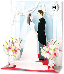 wishing cards for wedding pop up sight n sound greeting card wedding home page