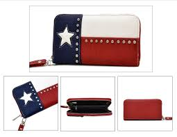 Texaa Flag Texas Flag Wallet Texas Star Trading Co