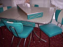 Vintage Metal Kitchen Tables And Chairs What They Were - Metal kitchen table