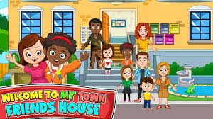 my town best friends u0027 house android apps on google play