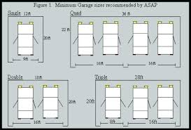 4 car garage size dimension of two car garage burnbox co