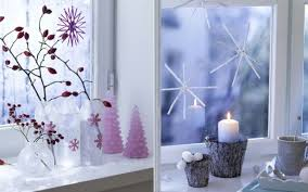 decorate your windows christmas display lights candles