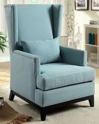 Blue Accent Chair Buy Furniture Of America Cm Ac6996bl Stafa Accent Chair In Blue