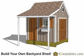 backyard shed blueprints shed plans with porch build your own shed with a porch