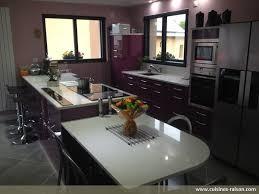 cuisine 3m de beau plan travail cuisine quartz 14 cuisine couloir parallele