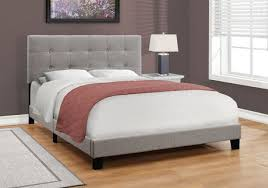 Grey Bed Frame Monarch Specialties Grey Bed Frame Walmart Canada