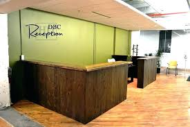 Reception Desk Wood Receptionist Desk Ideas Office Reception Desk Ideas Office Front