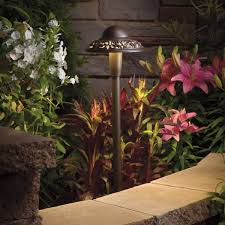 Kichler Landscape Lights Kichler Lighting 15857azt 12 Volt Pierced Dome Led Landscape Path