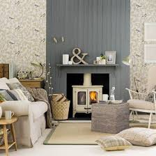 Living Rooms With Wood Burning Stoves Cosy Living Room Looks For Autumn Ideal Home
