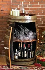 Barrel Bar Table Wine Rack Wine Barrel Bar Table Wine Rack Itself Building Wooden