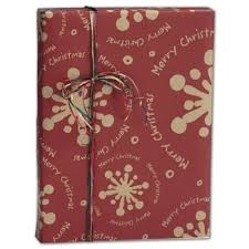 kraft christmas wrapping paper kraft printed wrapping paper wholesale discounts bags bows