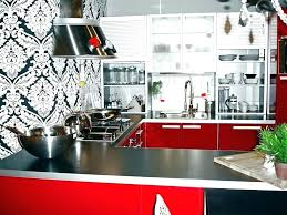 yellow red kitchen curtains and decor org likable dining room