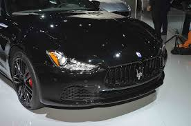 2017 maserati ghibli silver maserati ghibli reveals its dark side in new york motor trend